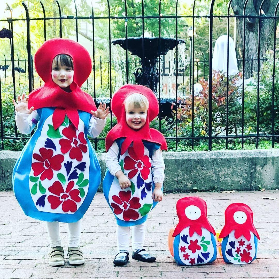 Russian Nesting Doll Matryoshka Doll Costume Doll Halloween