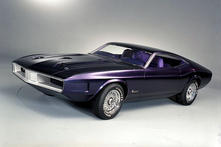 1970 Ford Mustang Milano Konzept -
