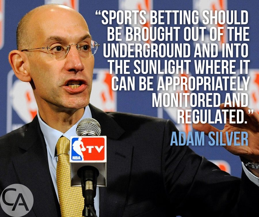 NBA Commish OpEd Calls For Legal Sports Betting Sports