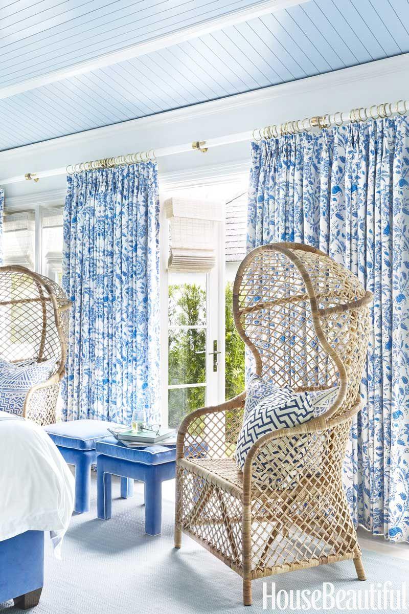 A Modern Twist On Palm Beach Style Coastal Bedrooms White