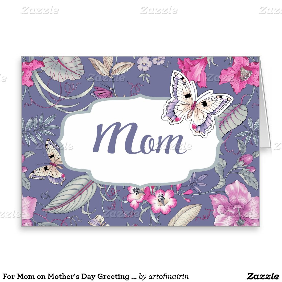 For Mom On Mothers Day Greeting Cards