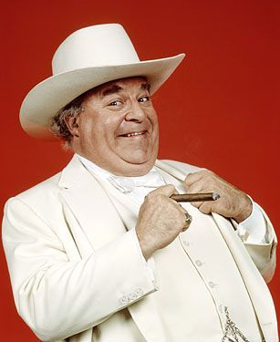 5e9bdf664f9dd7 While the Duke boys were known for their fast cars and Daisy Duke was known  for her namesake shorts, Boss Hogg was famous for his white suit and white  ...