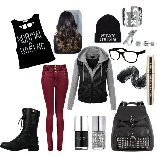 """Normal is Boring!"" by hannah-cowie on Polyvore"