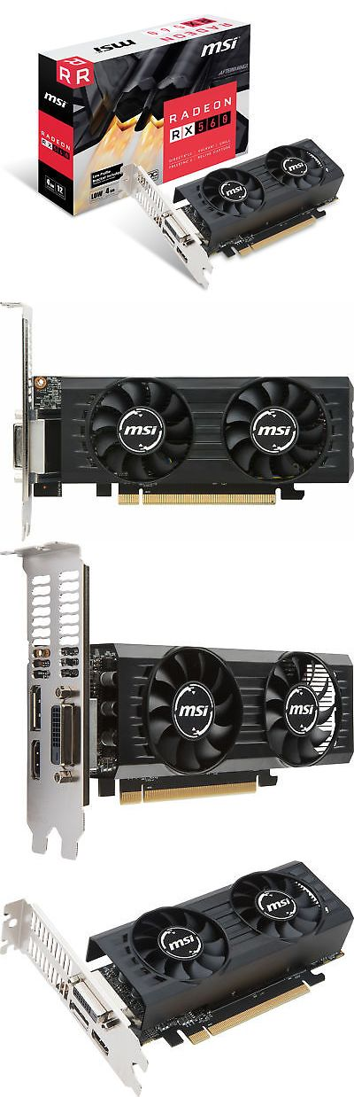 Computer Components and Parts 175673: Msi Radeon Rx 560 4Gt