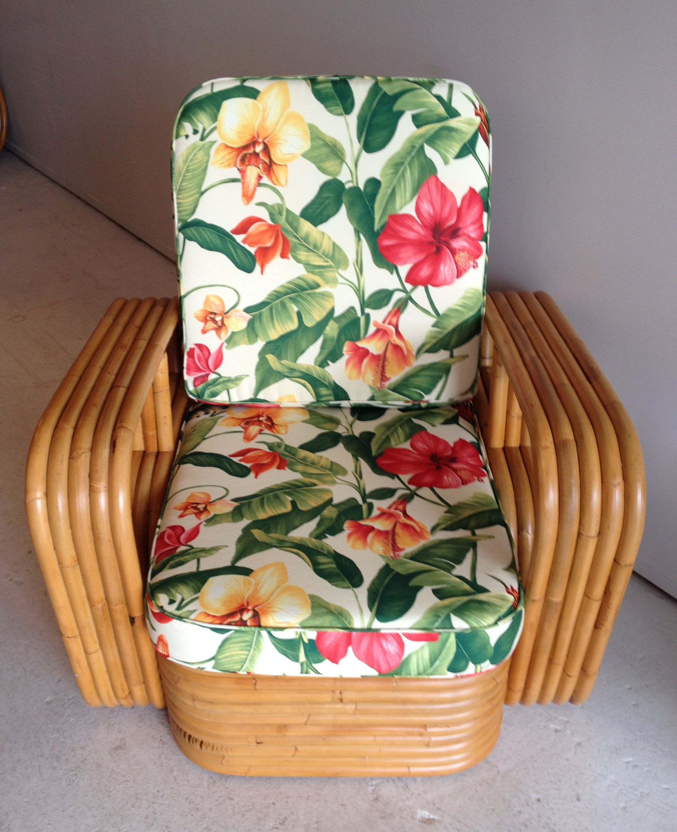 Hamptons Vintage & Paul Frankl Single cane Chair by found