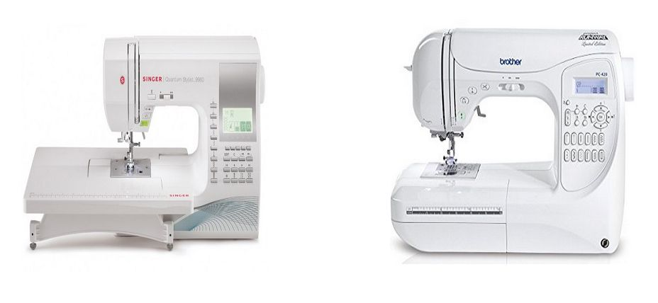 Singer 40 Vs Brother PC40PRW Comparison In Detail Sewing Inspiration Compare Singer And Brother Sewing Machines