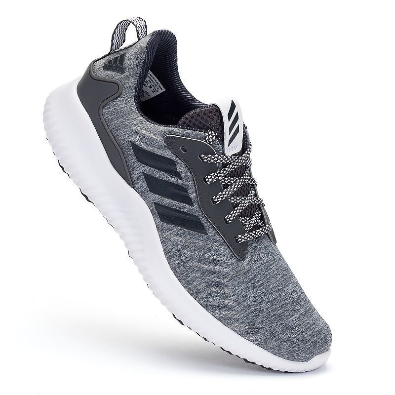 sale retailer 47384 893ea Adidas Alpha Bounce RC Womens Jersey Running Shoes, Size 6.5, Dark Grey