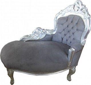 Silber Barock Mobel Kindermobel Kinderchaiselongues Chaiselongue Chaise Barock Mobel