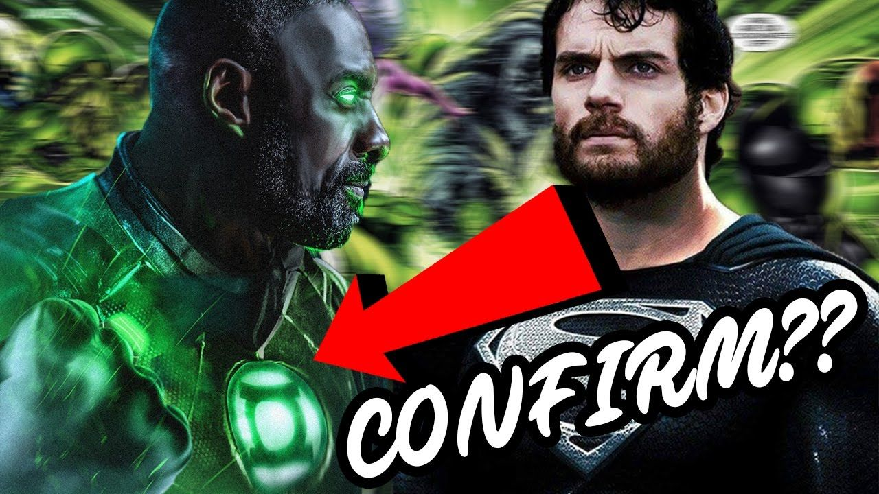Green lantern in the justice league movie justice