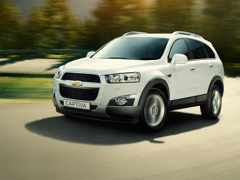 Chevrolet Captiva The 5 Or 7 Seat Suv From Chevrolet Uk