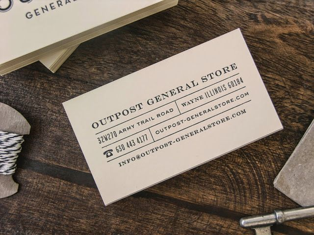 Good design makes me happy: Project Love: Outpost General Store