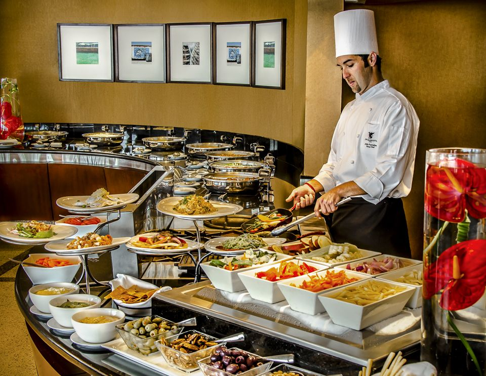 The Buffet at the JW Marriott Lima is quite spectacular