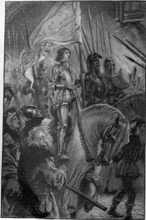 illustration triumph after orleans