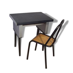 bureau style industriel mtal chaiseindustriel straforkremer