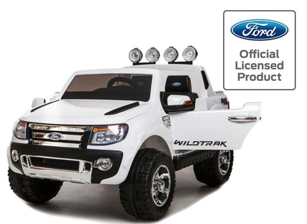 licensed ford ranger 12v kids electric ride on jeep white http