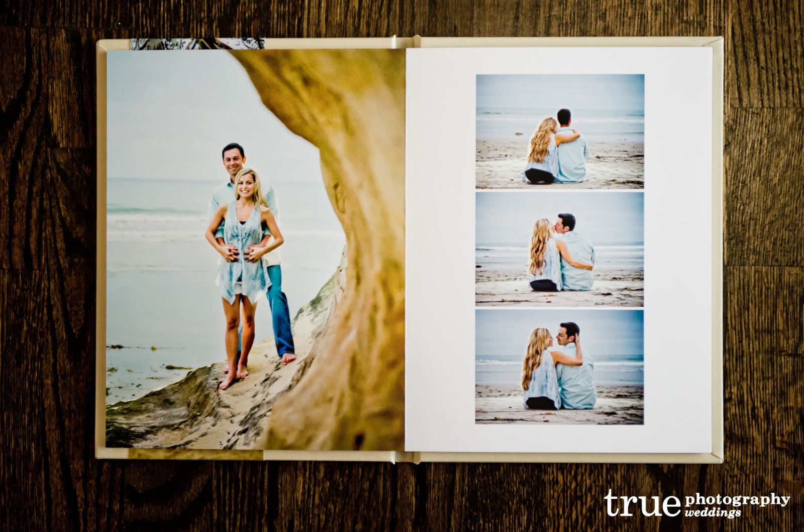 Engagement-Album-Wedding-Guestbook-- | Ramona Backyard Wedding ...