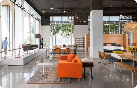 Blu Dot Austin Contemporary Furniture Showroom Austin Home