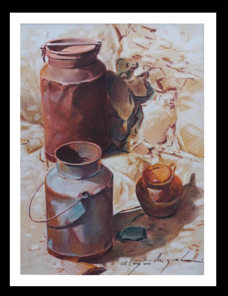 Luis Almazan Miquel Figurative Painting Almazan Realistic Still