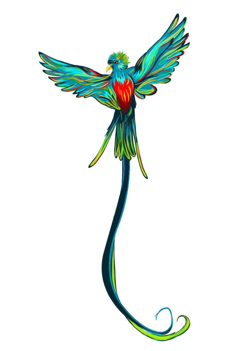 Quetzal Guatemala Con Imagenes Tatuaje De Quetzal Tatuajes