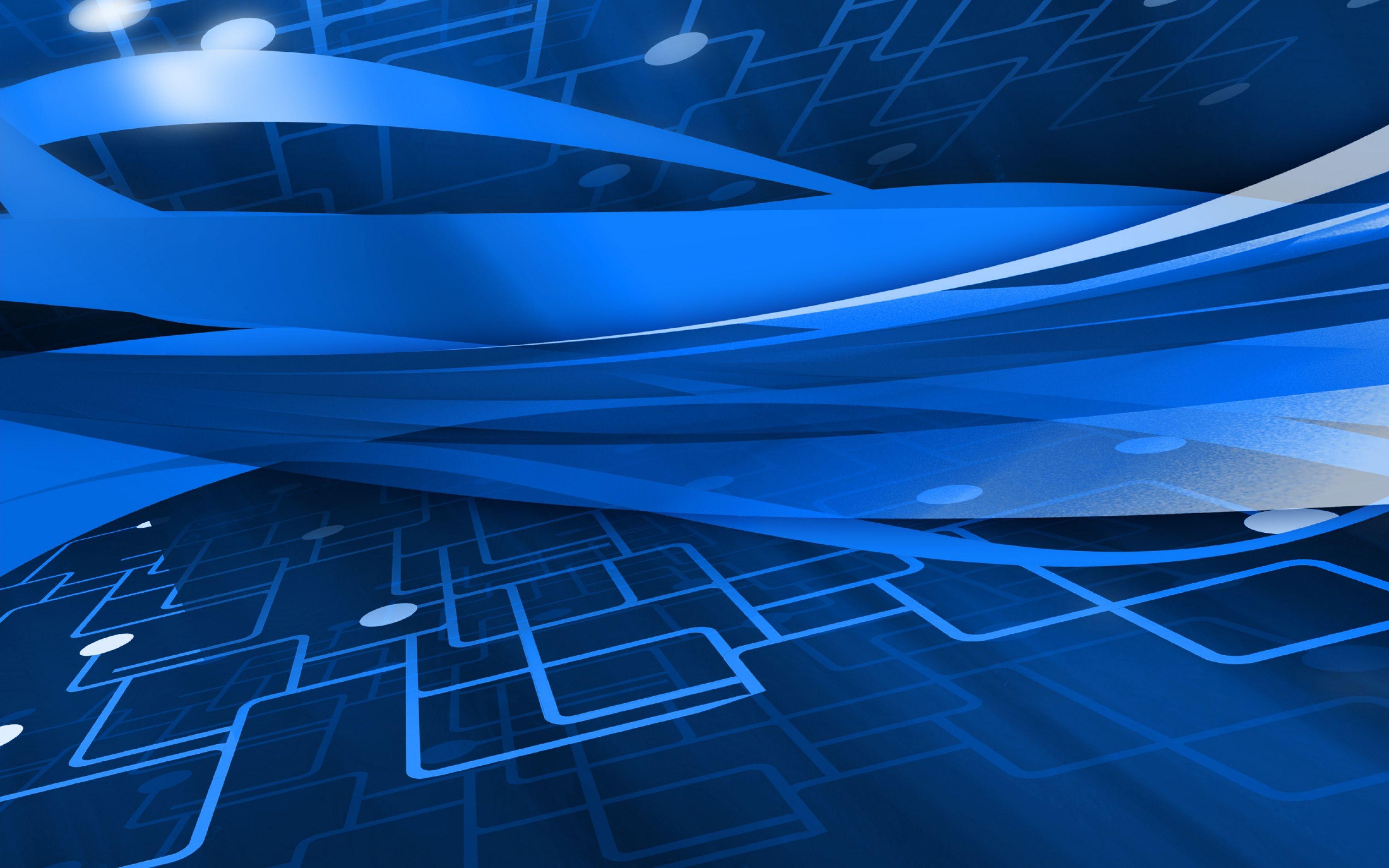 3840x2400 Wallpaper Abstract Schematic White Blue Line Unas Azules 4k Hd
