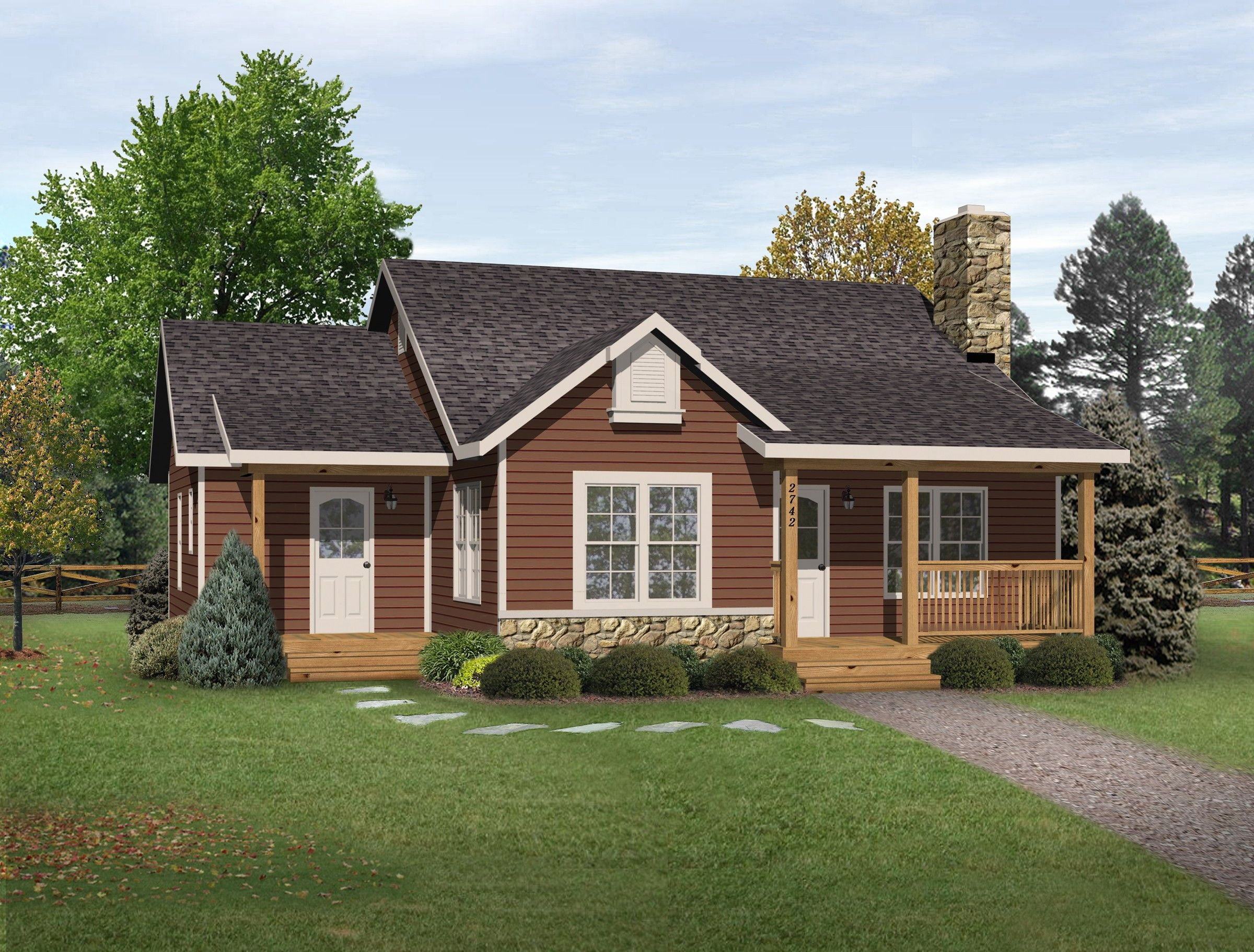 Plan 22081sl Simple Country Cottage Craftsman House Plans Ranch Style House Plans Vacation House Plans