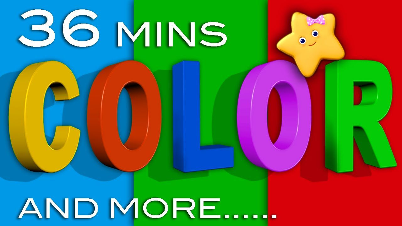 Color Songs & More Children\'s Learning Songs | 36 Minutes ...