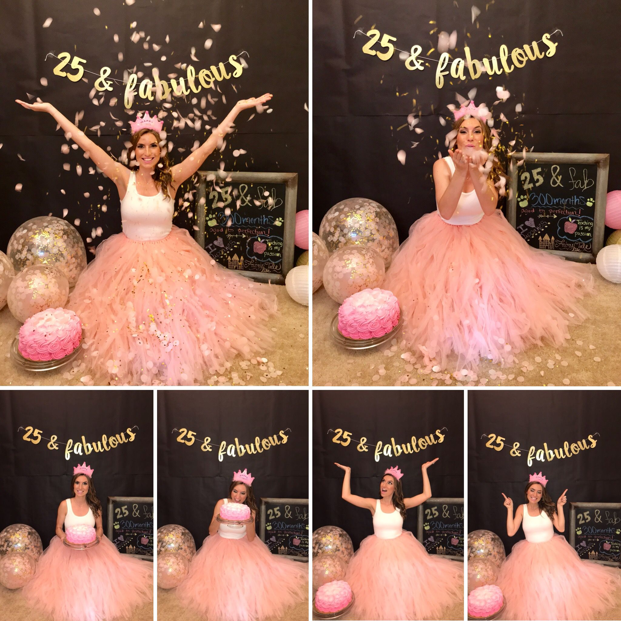 Adult Cake Smash 25th Birthday Birthday Ideas For Her