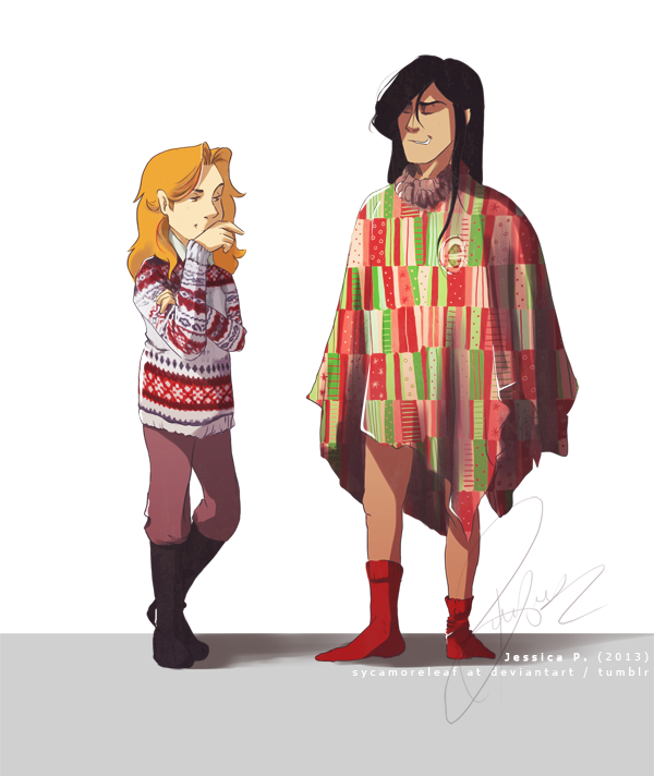 """ on the first day of christmas my eru give to me: a horrible sense of fashion "" Or that in which Melkor thinks he can infiltrate the real world but may be lacking a certain understanding of it...."