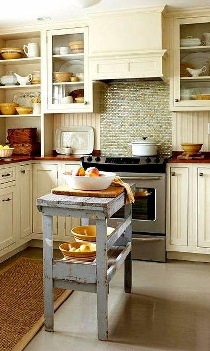 Siempre Pensamos Que Necesitamos Una Cocina Enorme Pero Te Vamos A Demostrar Que Nada Ideas De Cocina Para Espacios Pequenos Islas De Cocina Diseno De Cocina