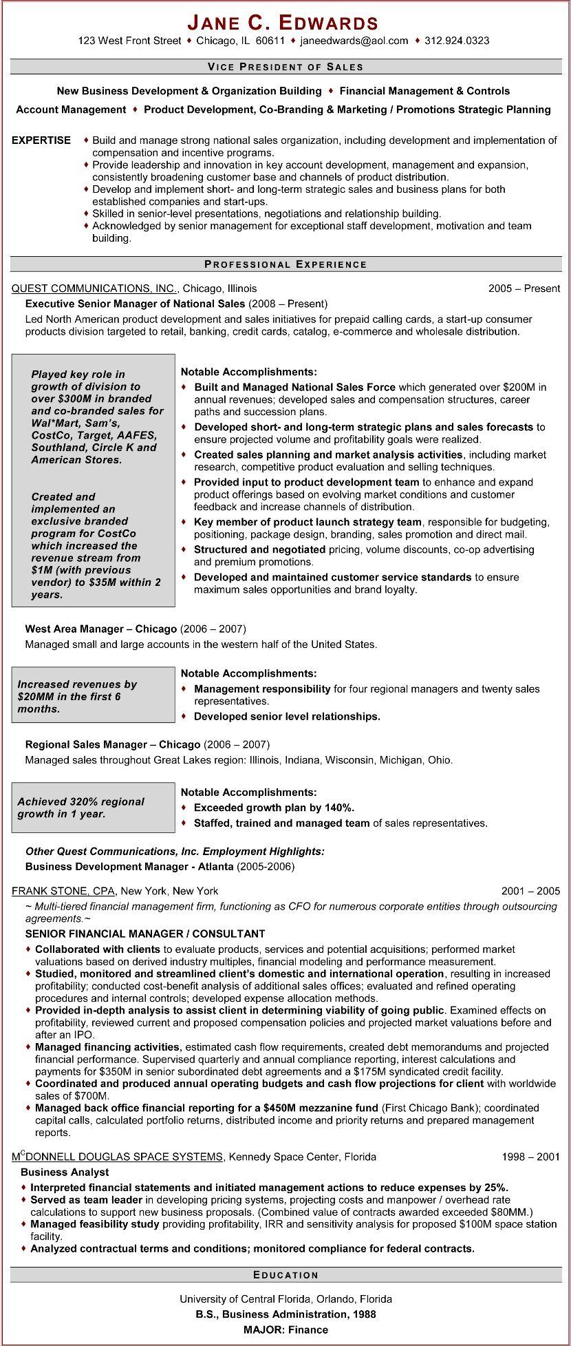 Executive resume samples professional resume writers