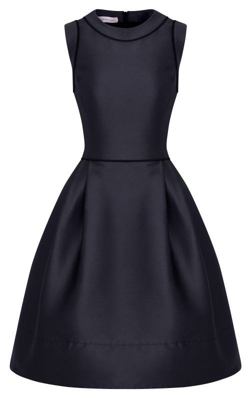 Simple Pretty Black Dress Appropriate For Formal Occassions Such
