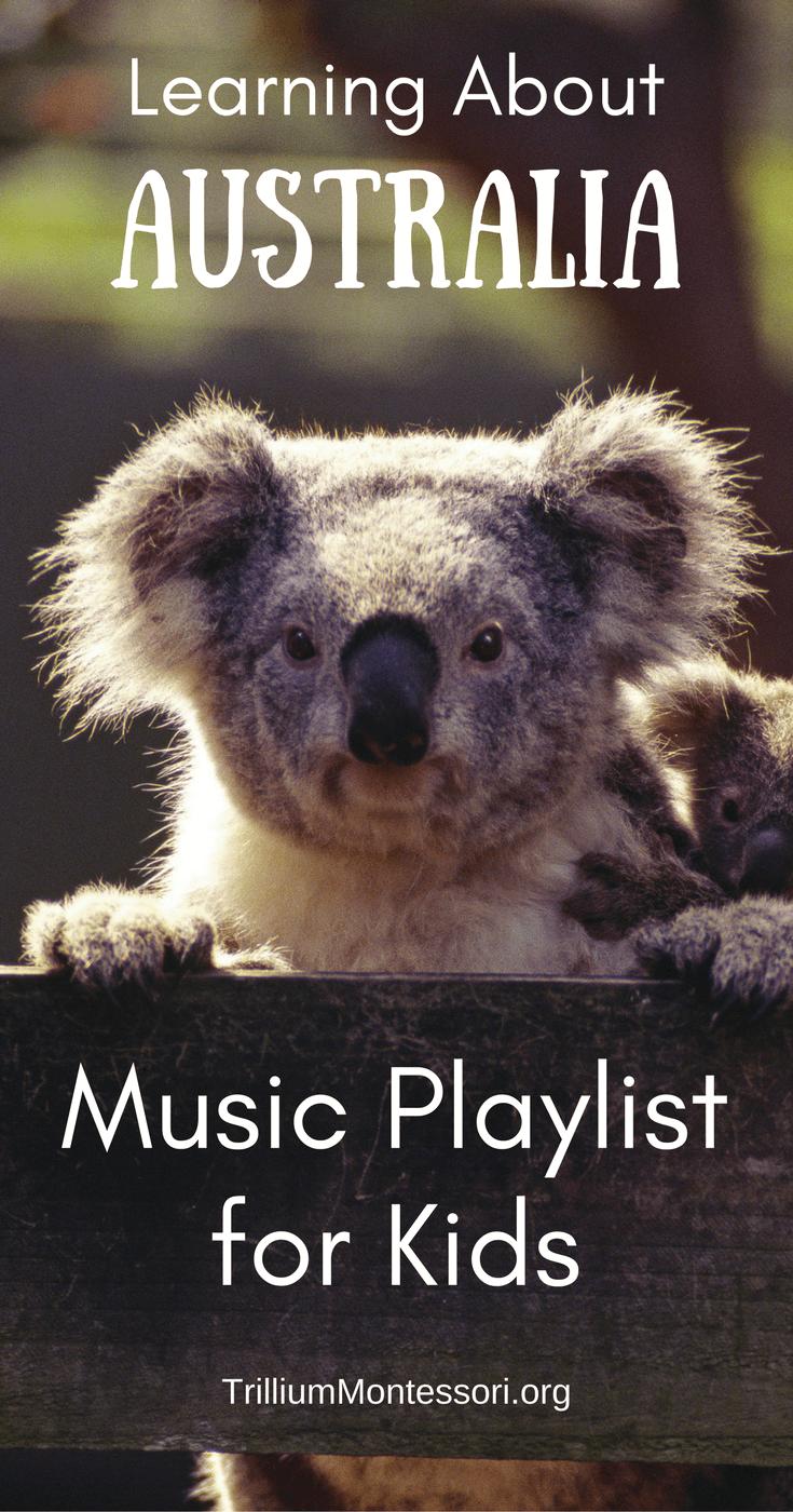 Australia Music Playlist Australian animals preschool