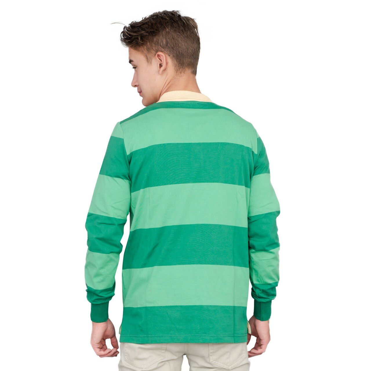 Blue and Detective Halloween Costume Blue Striped Shirt
