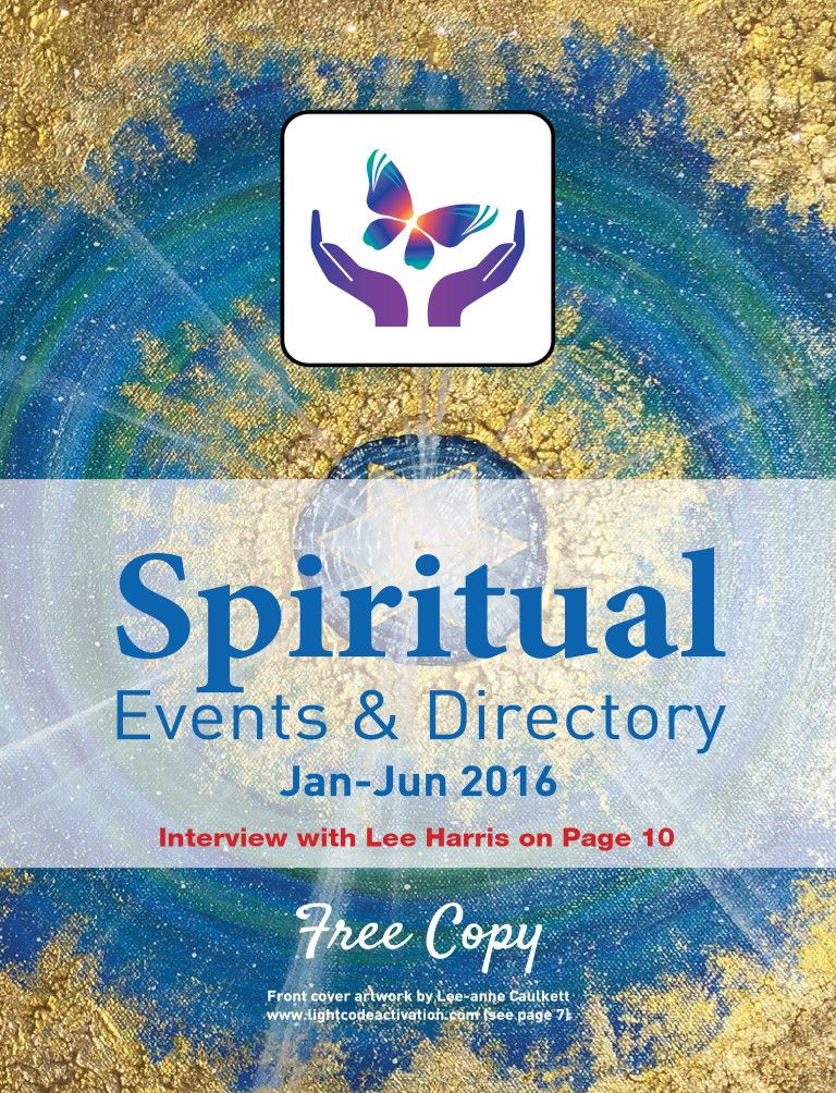 Spiritual Events & Directory: Jan-Jun 2016