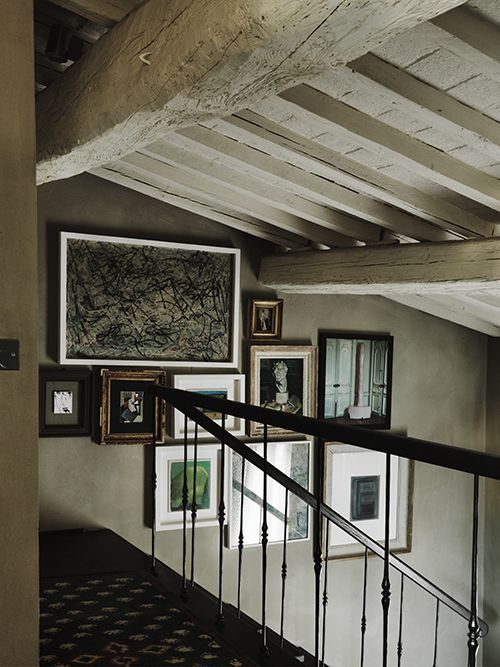 Franco and Alessandra Mariotti house in Florence, owners