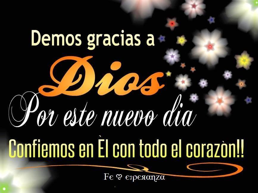 Brand New Day Quotes: Gracias A Dios Por Un Nuevo Dia