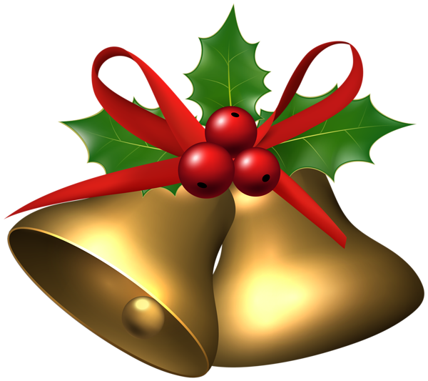 large christmas bells with holly png clip art image christmas red rh pinterest com au christmas holly clipart free borders christmas holly clipart free