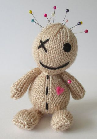 Craft Tool Knitting Patterns Voodoo Dolls Voodoo And Knitting