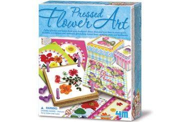 creatieve kit 'bloemenpers'