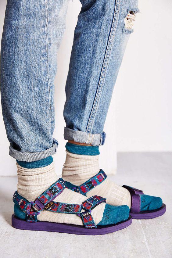 4cc612312 Teva X Woolrich Original Universal Sandal - Urban Outfitters ...
