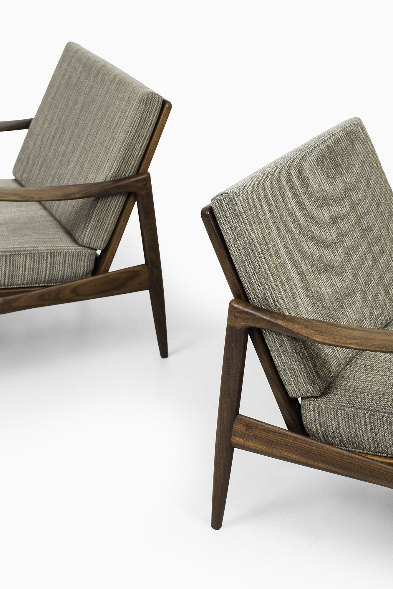 Ib Kofod Larsen Kandidaten Easy Chairs By Ope At Studio Schalling