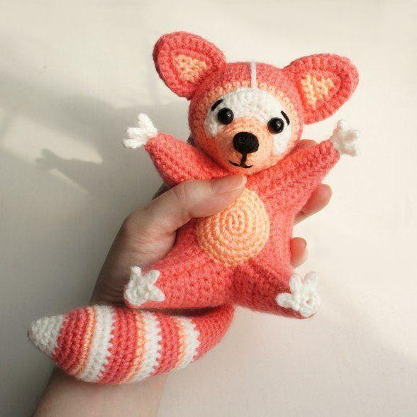 Raccoon amigurumi pattern | Amigurumi-muster, Waschbär und Amigurumi