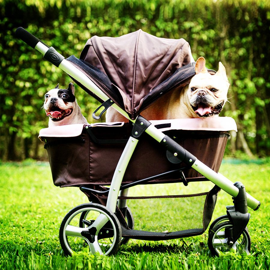 IBIYAYA luxury stroller gear for medium large dogs within