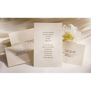 Loving Beginnings Invitation Kit Ivory Walmart Com Wedding Invitation Kits Invitation Kits Wedding Invitations Stationery