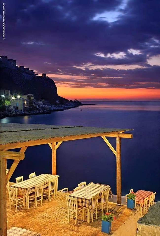 Taverna by the sea in Kos