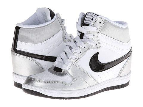 Nike Force Sky High Sneaker Wedge BlackBlackWhite