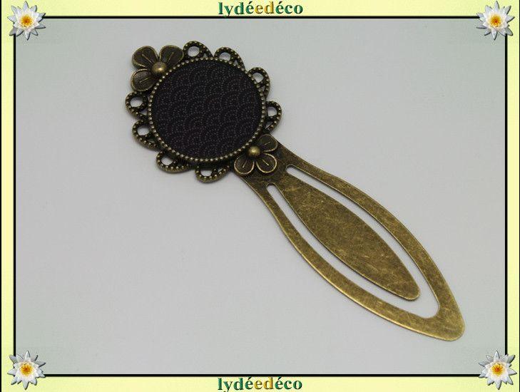 Marque-pages, Marque-pages Japon noir gris bronze est une création orginale de lydeedeco sur DaWanda