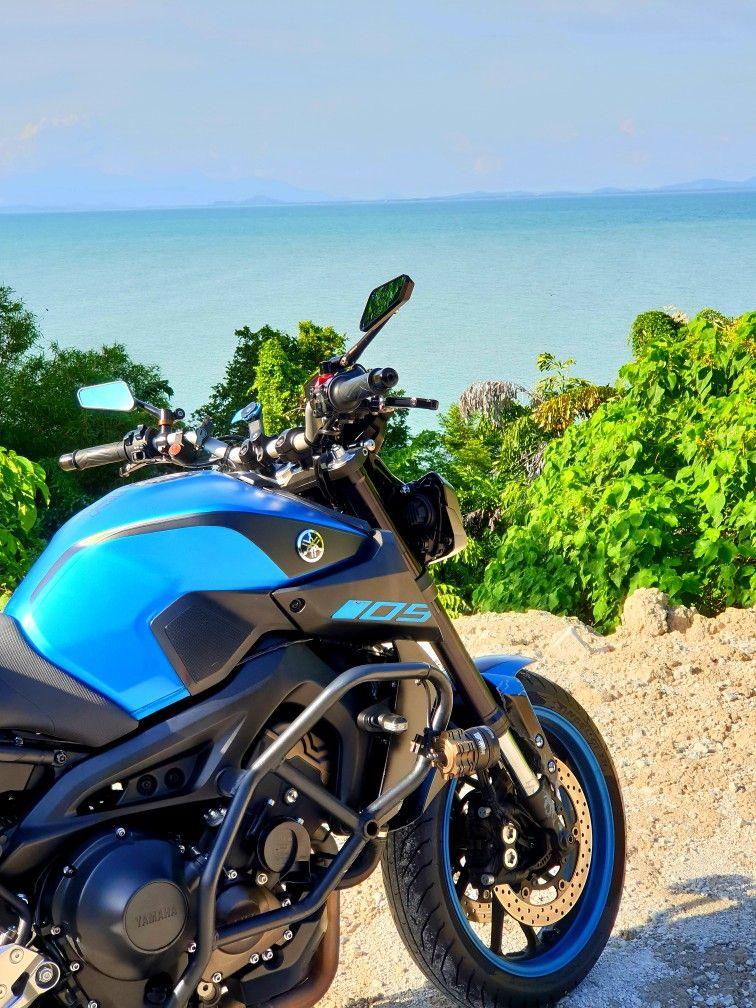 Yamaha unveils the MT-09 naked motorcycle - BikeWale