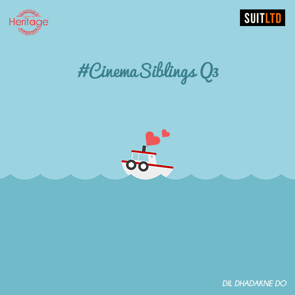Here's question 3! Guess the sibling duo in the following movie!Tell us their screen names with #CinemaSiblings to stand a chance to win vouchers from Deepkala Silk Heritage and SUITLTD.  Note: All brothers must tag their sisters & all sisters must tag their brothers in the answer. #SiblingSeason #RakhiContest