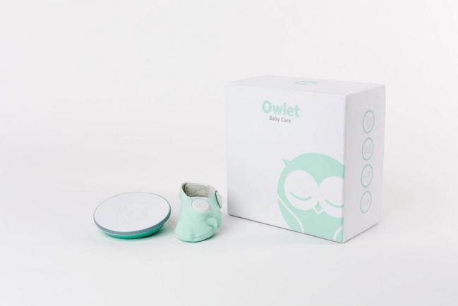 The Owlet Baby Monitor Sock Owlet Smart Sock Baby